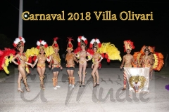 Noche de brillo y color en Villa Olivari